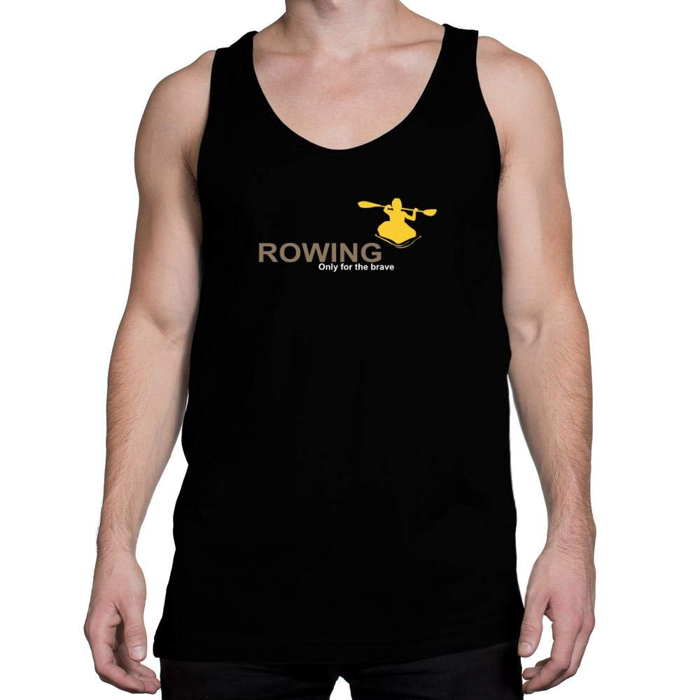 Idakoos Rowing Only for The Brave Tank Top