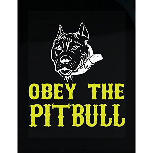 Obey The Pitbull - Sticker - Obey Pit Bull