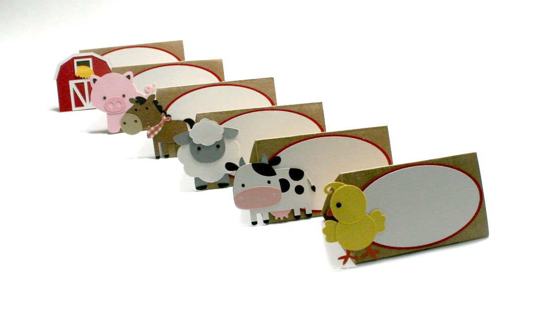 Farm Place Cards / Farm Food Labels