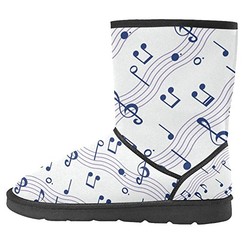 InterestPrint Womens Snow Boots Unique Designed Comfort Winter Boots Multi 28 kcJTaqXpp