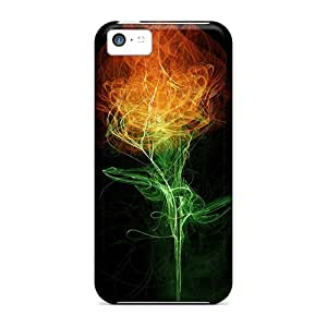 New Premium Flip Cases Covers Firerose Skin Cases For Iphone 5c
