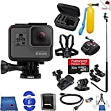 Gopro Hero 5 Black 14 Piece Frontier Bundle Includes: Go Pro Hero5 Black + Case + Floaty Bobber + Chest Strap + Wrist Mount + Monopod + More For Sale