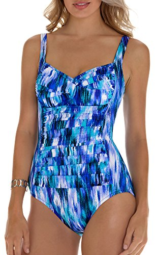 Trimshaper Intricate Ikat Averi One Piece 16