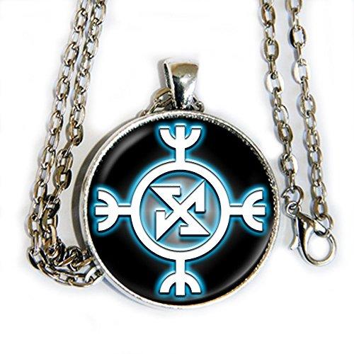 Norse Goddesses Costume (Norse Ragnarok symbol - pendant necklace - HM)