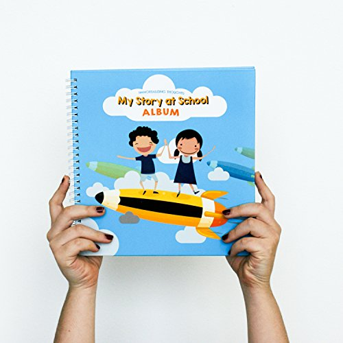 My School Years Book/A Mom Journal to Fill in All of Your Child Memories. from Preschool to 12th Grade. Great Gift for Boys & Girls, Unisex. Write Now, Treasure Forever. Hardcover + Stickers