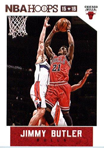 (2015-16 Panini Hoops #113 Jimmy Butler Basketball Card)