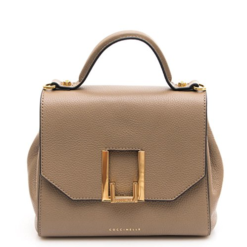Borsa Donna Mini Bag Pelle Vitello beige