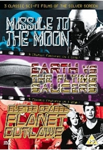 Missile to the Moon/Earth Vs Flying Saucers/Planet Outlaws [Import anglais] ()