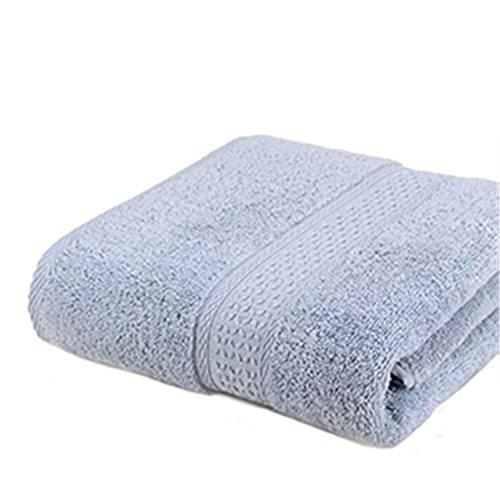 FANRENYOU 100% Cotton Solid Bath Towel Beach Towel For Adult