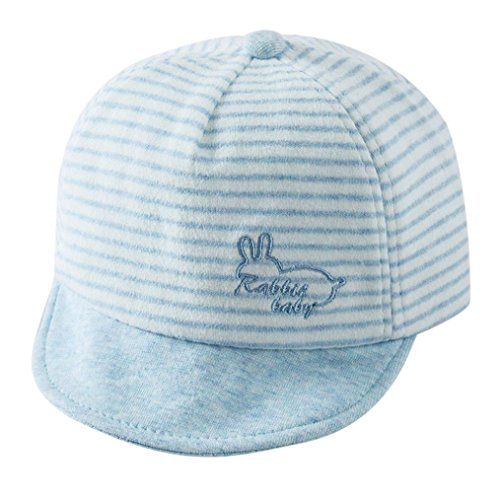 sharemen-unisex-hat-for-cute-baby-boy-girl-soft-toddler-infant-baseball-cap-blue