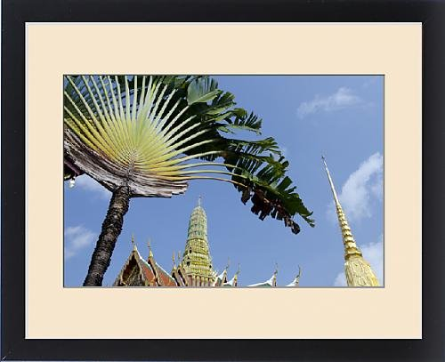 Framed Print of Thailand, Bangkok. The Grand Palace, established in 1782 by Fine Art Storehouse