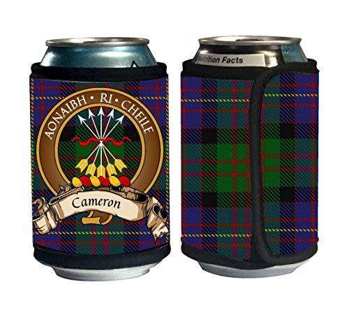 Beer Scottish (Cameron of Erracht Scottish Clan Tartan Beer Can Cozie, Can Cooler)