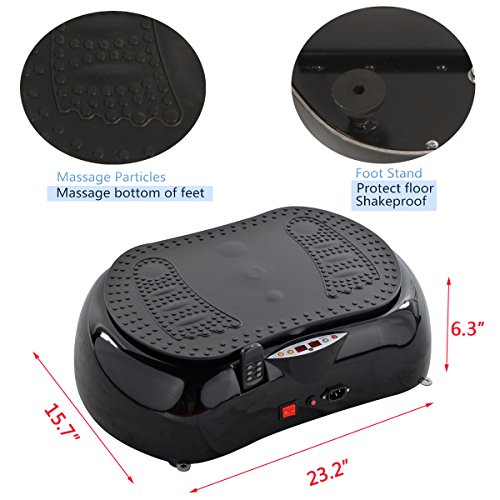 Emer Portable Vibration Platform Fitness Machine