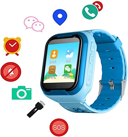 Amazon.com: F-TALK - Reloj inteligente para niños 4G con ...