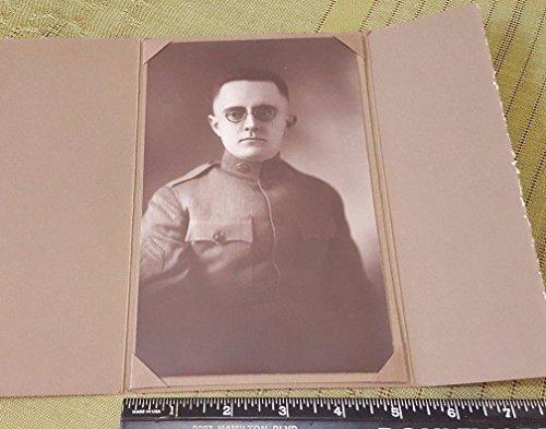 "5X8"" Antique REINHOLD SEYDEL WW1 Photo Gallery Paper Frame Scrapbook Photo"