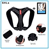[Upgraded VER.] SHLs Back Posture Corrector for Women and Men | Posture Trainer Back Brace for Clavicle Support & Back Straightener | Shoulder Support for Kyphosis, Scoliosis, Pain Relief & Neck Hump Review