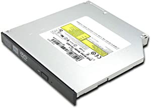 Internal 8X DVD+-RW DL Writer Optical Drive Replacement for Dell Inspiron 1525 1521 1520 1501 1700 1720 14R N4110 N4030 N4010 N4020 Laptop PC, Super Multi DVD-RAM 24X CD-RW Burner