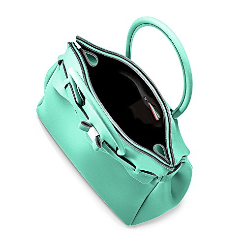 Borsa Cm acquamarina Miss Save Bag Frozen 34x29x18 A L H w Donna Mano aquamarine My X qp8wt