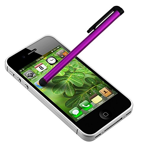 Theo&Cleo Purple Touch Screen LCD Stylus Pen Accessory For