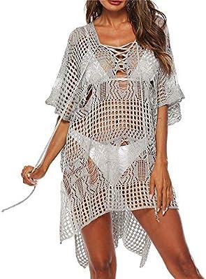 Falda de playa para mujer Las mujeres ahuecan el traje de baño de ...