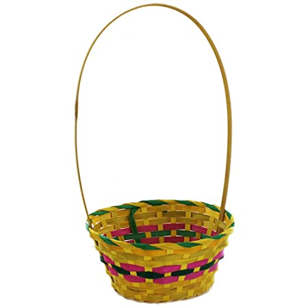 Woven easter baskets assorted amazon kitchen home woven easter baskets assorted negle Images