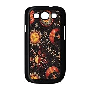 Sun Moon Pattern Personalized Cover Case for Samsung Galaxy S3 I9300,customized phone case ygtg542453