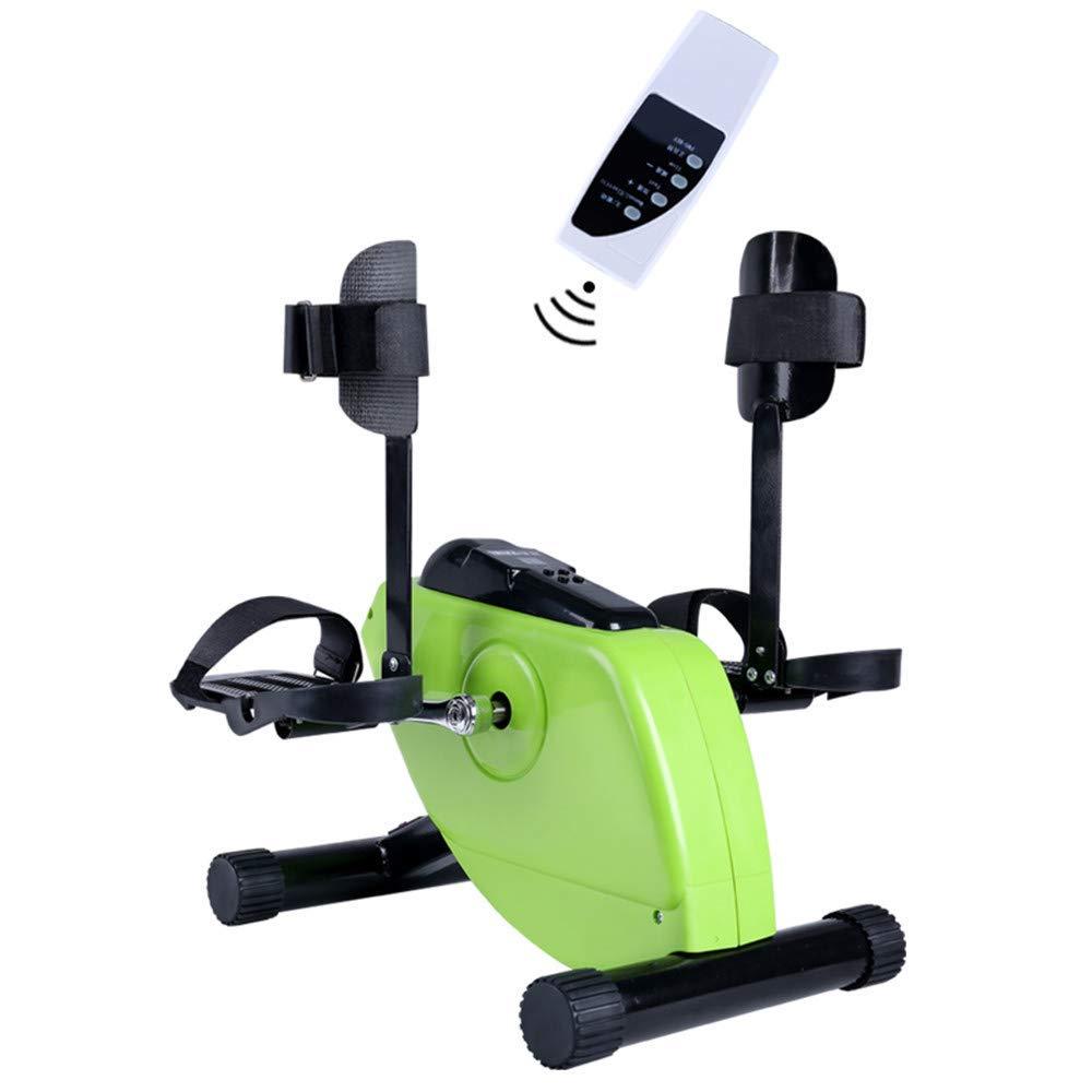GFDDZ Elektrischer Pedal Exerciser Medical Peddler für Beinarm- und Knieerholungsübung mit LCD-Monitor und Fernbedienung, Heimtrainer und Pedal Exerciser für Behinderte und ältere Menschen