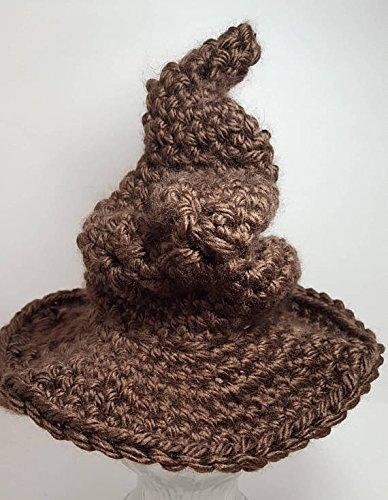 Amazon.com  Crochet newborn Sorting hat inspired. Made by Bead Gs on  AMAZON  Handmade 262843aefc1