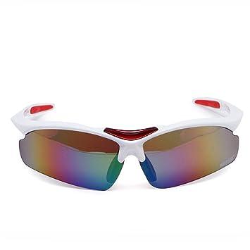 DESESHENME Hombres Mujeres polarizadas Gafas de Sol Deportivas Ciclismo Bicicleta Gafas Gafas de Conducción al Aire