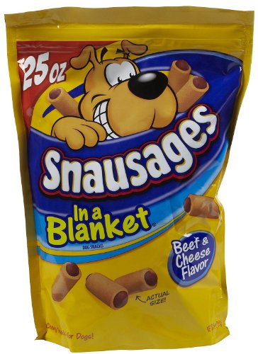 Snausages Beef & Cheese - 25