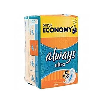 Pack económico 144 toallas higiénicas de la marca Always simply fits de talla normalplus: Amazon.es: Salud y cuidado personal