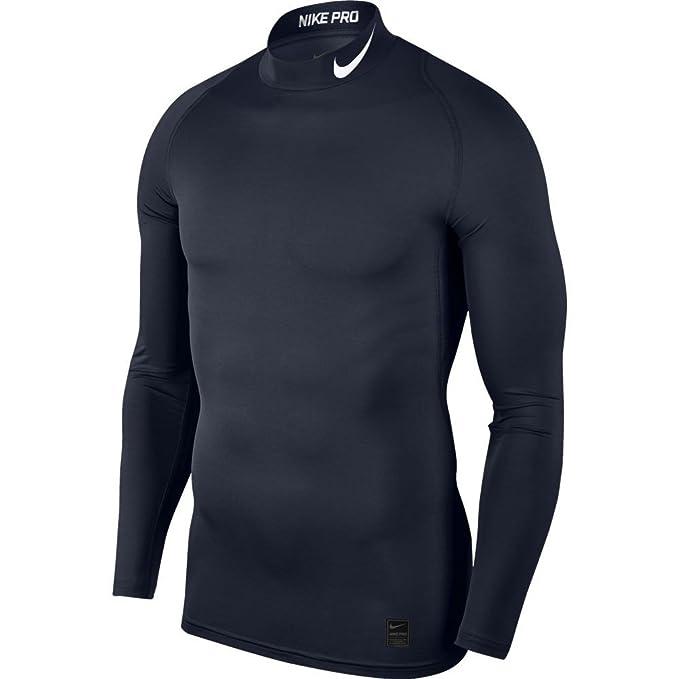 Nike Men s Cool Compression Mock Long Sleeve Shirt  Amazon.co.uk  Sports    Outdoors a74cd2874