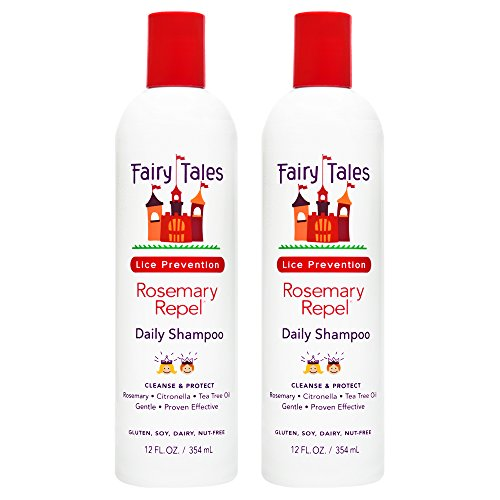 Fairy Tales Rosemary Repel Shampoo, 12 Fl Oz (Pack of 2)