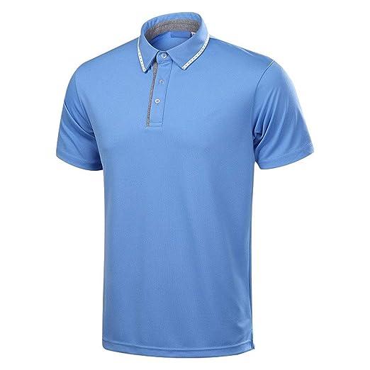 Camiseta para Hombre, Ropa de golf para hombres Camisa POLO de ...