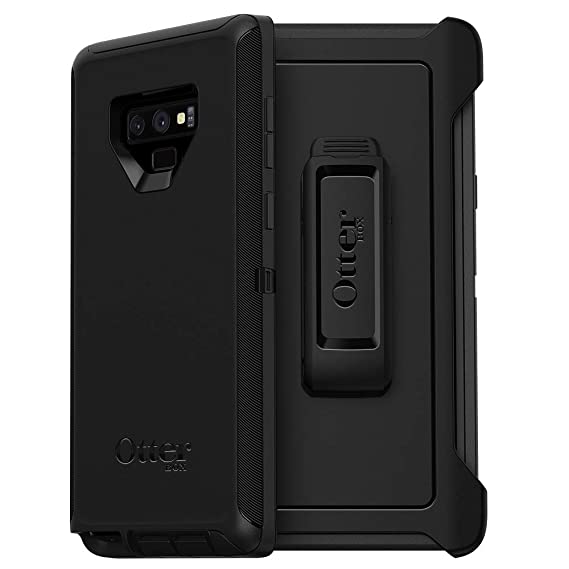 OtterBox Defender Series SCREENLESS Edition Case for Samsung Galaxy Note9 - Frustration Free Packaging - Black