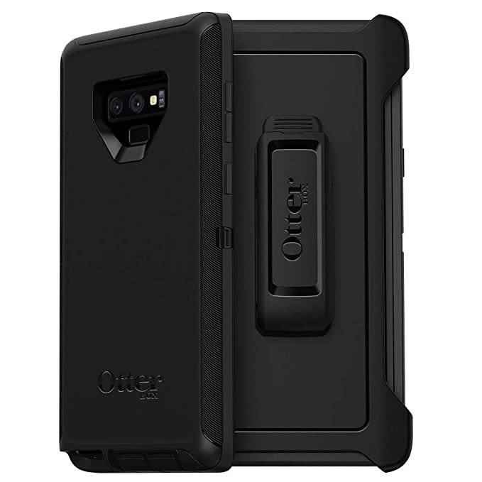 official photos b8448 c39d5 OtterBox Defender Series SCREENLESS Edition Case for Samsung Galaxy Note9 -  Frustration Free Packaging - Black