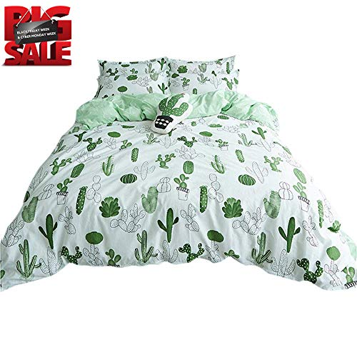 7feec1a1530a VClife Cactus Duvet Cover Sets Modern Garden Plant Design Bedding Sets Girl  Woman-100%