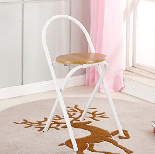 Jsmile chaises Pliantes Portable Fauteuil Chaise à Manger Adulte Tabouret de ménage Petit Banc extérieur Chaise de Tabouret Pliante (Color : #2)