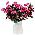 Inverlee-1Pcs-Artificial-Flowers-Azalea-Safflower-Floral-Fake-Flowers-Wedding-Bridal-Bouquet-DIY-Home-Garden-Decor