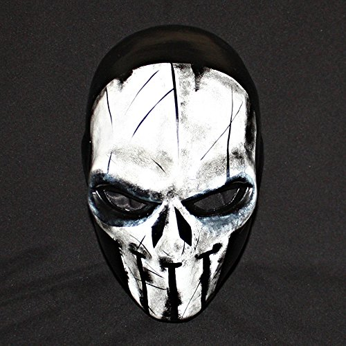 [1:1 Custom Halloween Costume Cosplay Latex The Punisher Mask LA22] (Punisher Costumes For Sale)