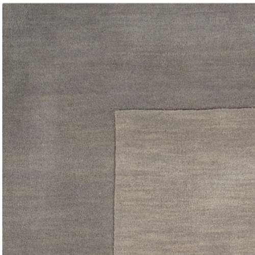 Surya Mystique M-312 Transitional Hand Loomed 100% Wool Elephant Gray 9' x 13' Area Rug