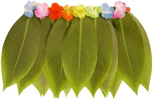 Falda de Hula de la hoja con flores: Amazon.es: Juguetes y juegos