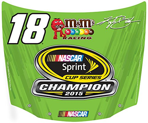 - Kyle Busch 2015 Sprint Champion hood shaped magnet -Kyle Busch 2015 Sprint champion magnet
