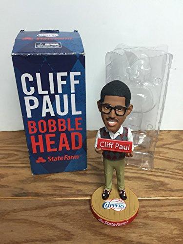 (Cliff Paul/Chris Paul Los Angeles Clippers State Farm Bobblehead SGA)