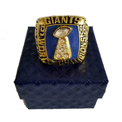 Ny Giants Ring - YIYICOOL New York Giant 1986 Super Bowl Championship Rings Size 11 Replica