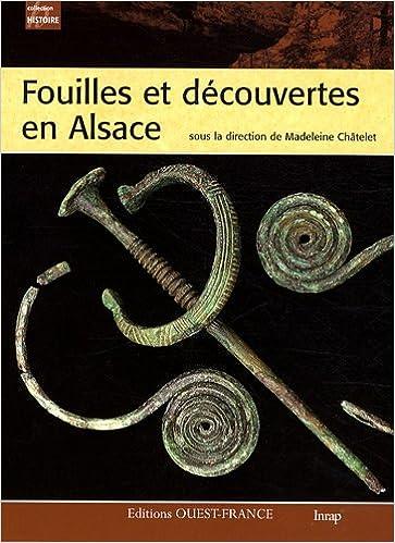 Fouilles et découvertes en Alsace epub, pdf
