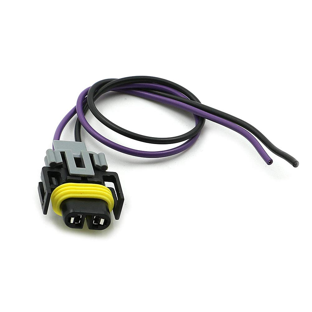 Alpha Rider Vehicle Speed Sensor VSS Connector Pigtail Harness For GM T5 700R4 4L60 4L60E 90-95 Motofans