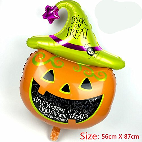 GZQ Pumpkin Decorative Foil Balloons For Party & Halloween & Carnivals]()