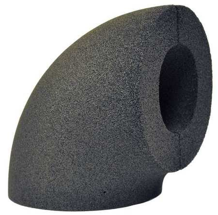 4-1/2 Inch Closed Cell Glass Elbow Pipe Fitting Insulation 1-1/2 Inch Wall by FOAMGLAS