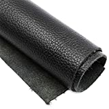 Real Leather Cow Hides 8.5 x 11 Black